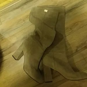 DVF suede boots